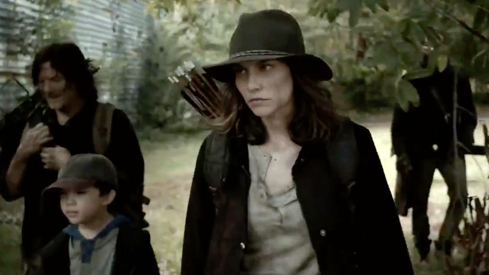 maggie semble en colère dans le dernier trailer de The Walking dead