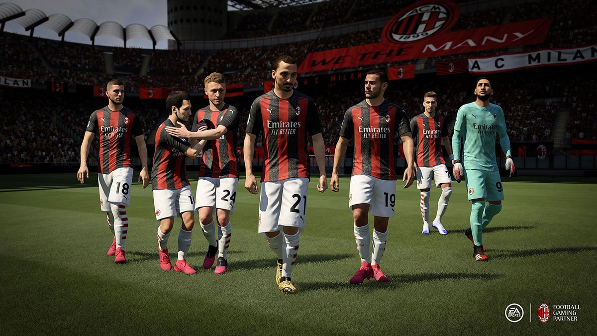 AC Milan sur FIFA 21