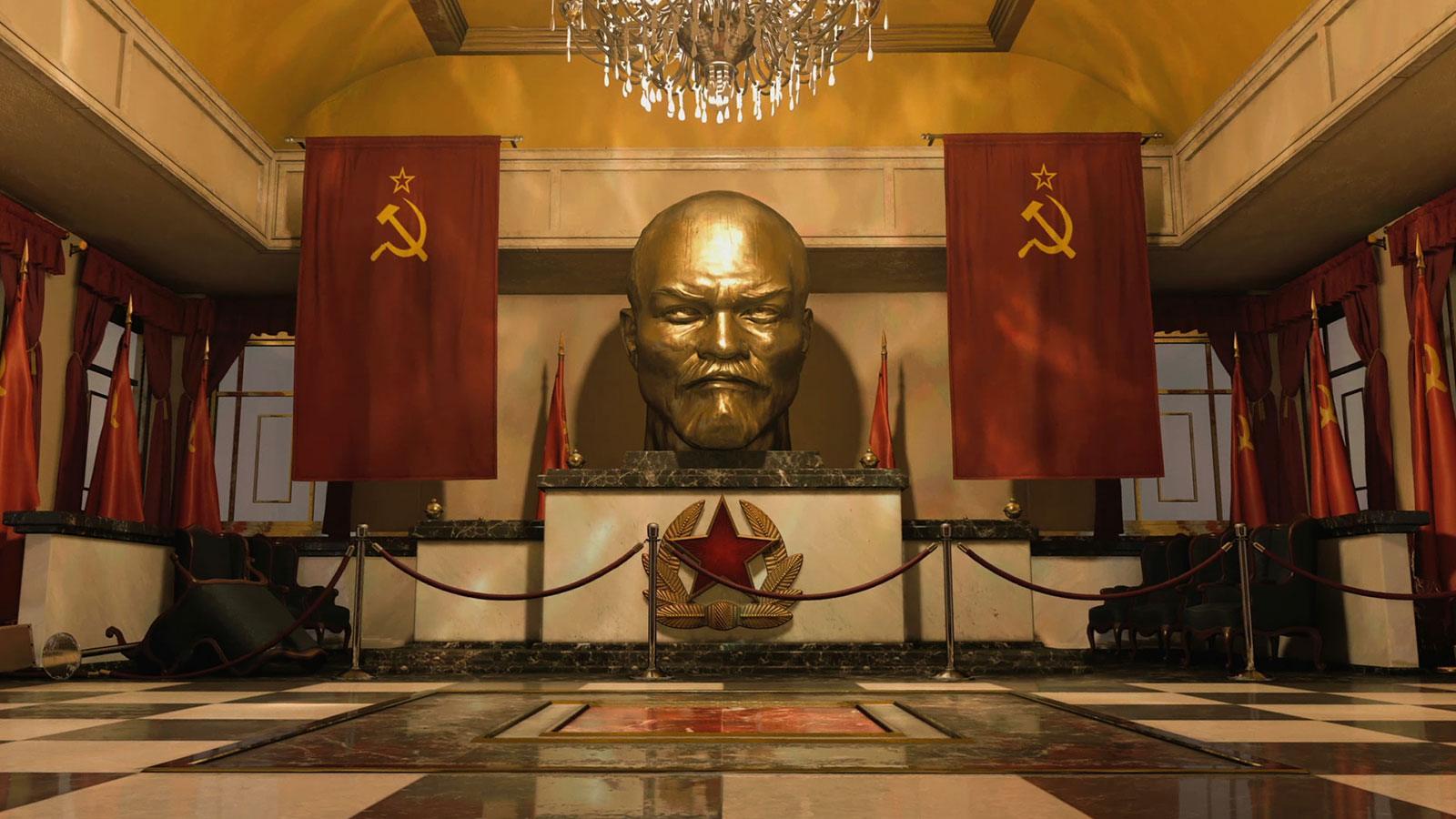 BOCW Moscou statue map