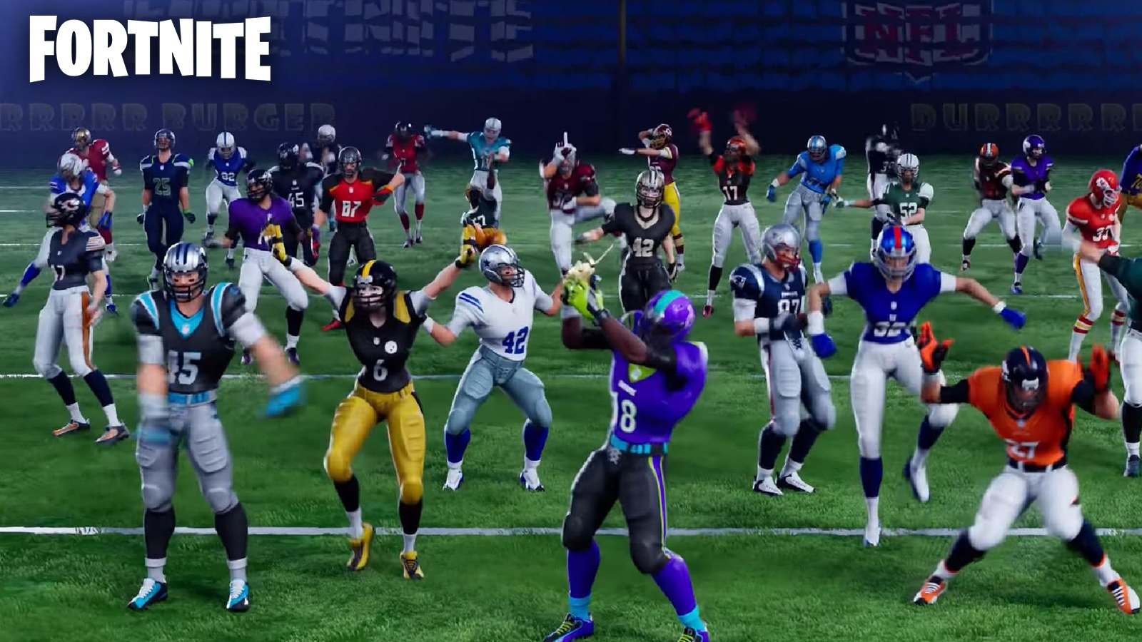 Skins Fortnite NFL