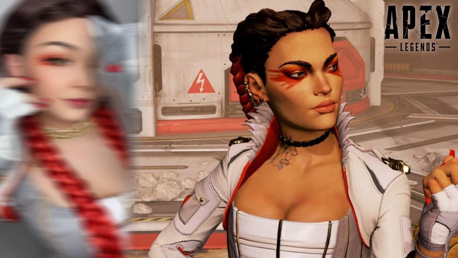Une cosplayeuse s'est illustrée en tant que Loba
