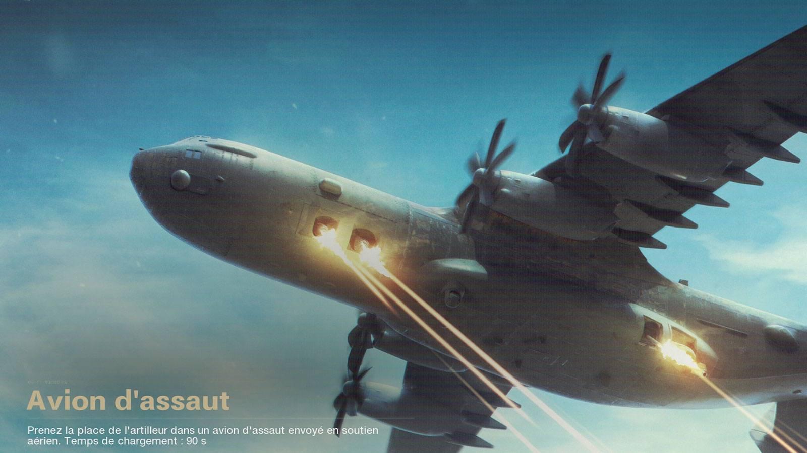 Avion d'assaut Black Ops Cold War Treyarch