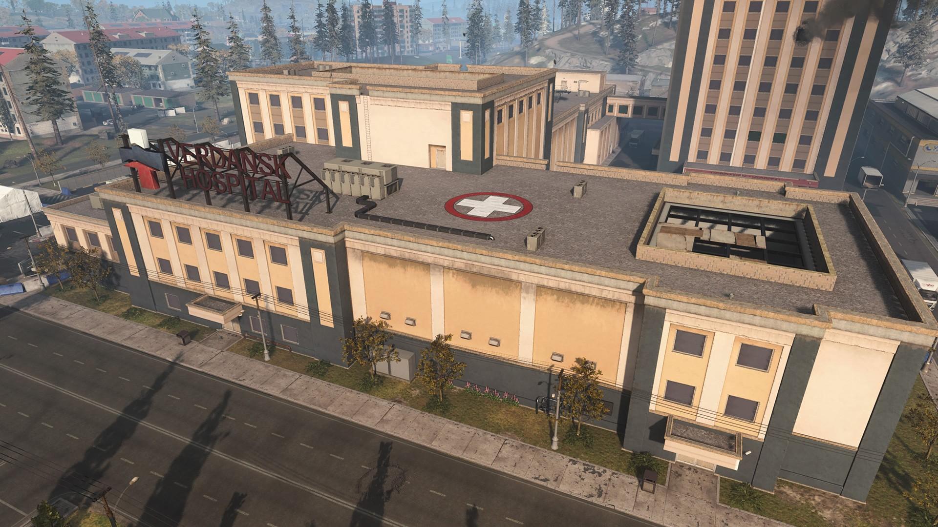 Warzone hôpital Activision