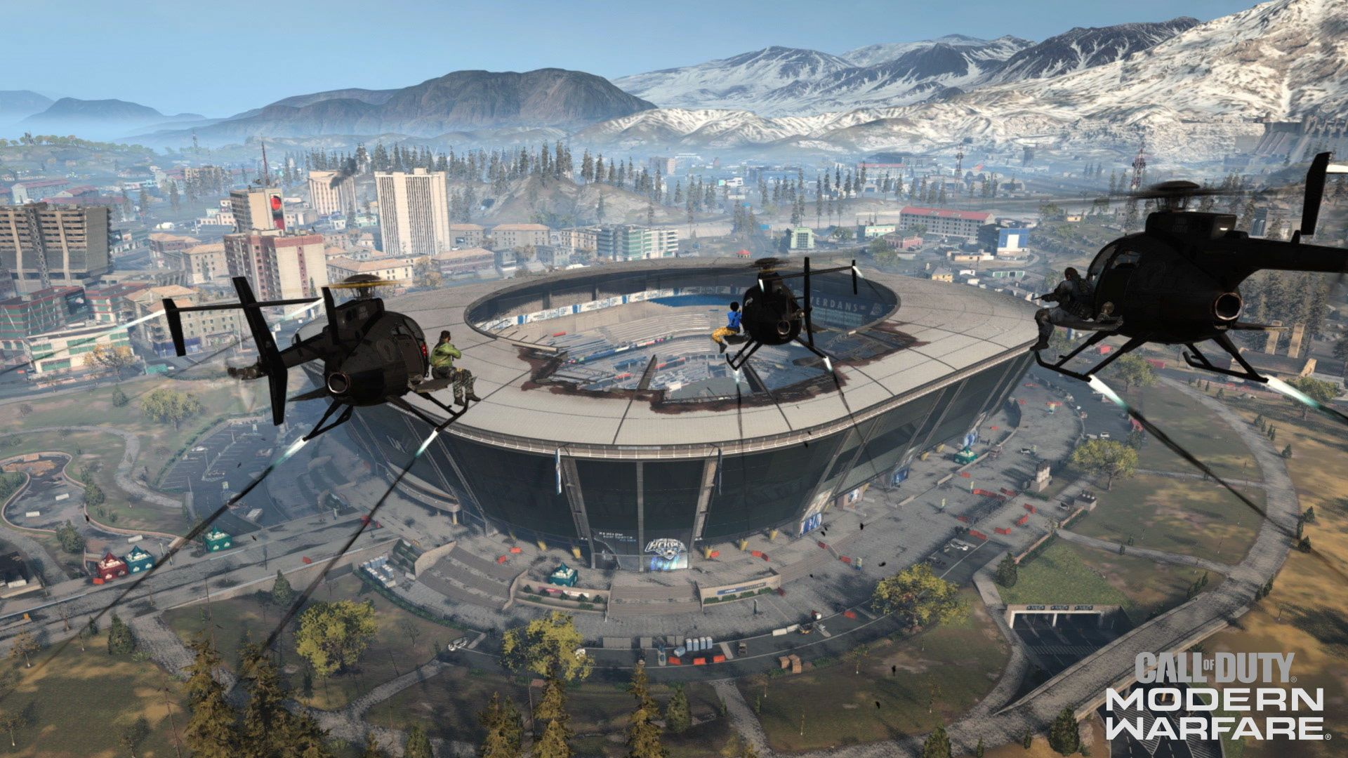 Warzone Stade Activision
