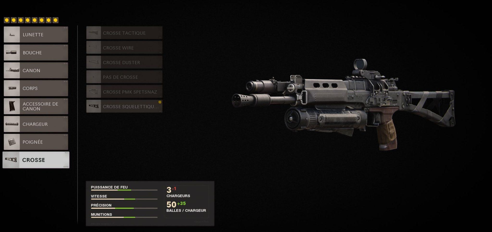 meilleure classe Bullfrog Black Ops Cold War