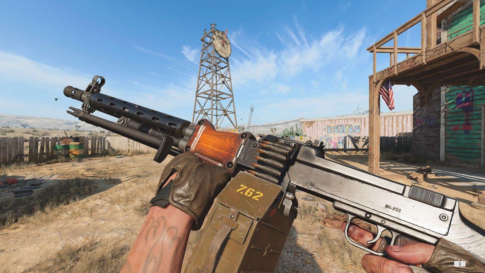 Black Ops Cold War chargeur VDV RPD Treyarch