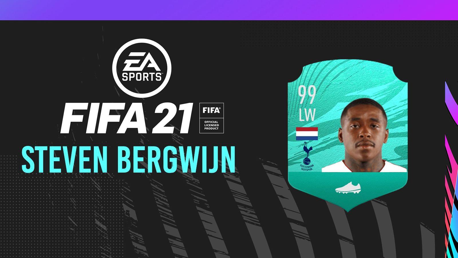 Equipe FUT de Steven Bergwijn FIFA 21