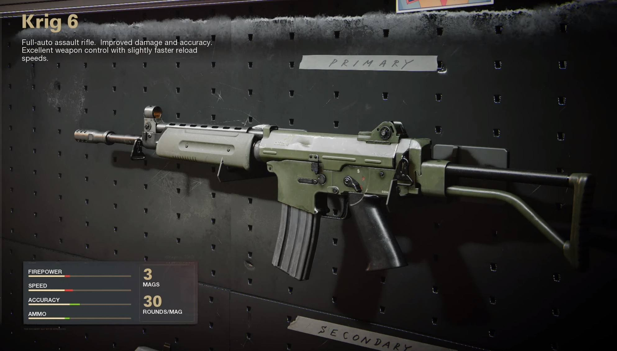 Black Ops Cold War attirail Treyarch Krig 6
