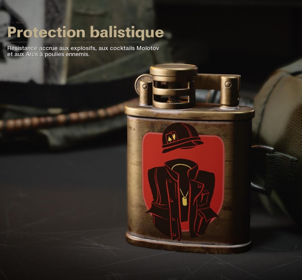 Cold War atout Protection balistique Treyarch