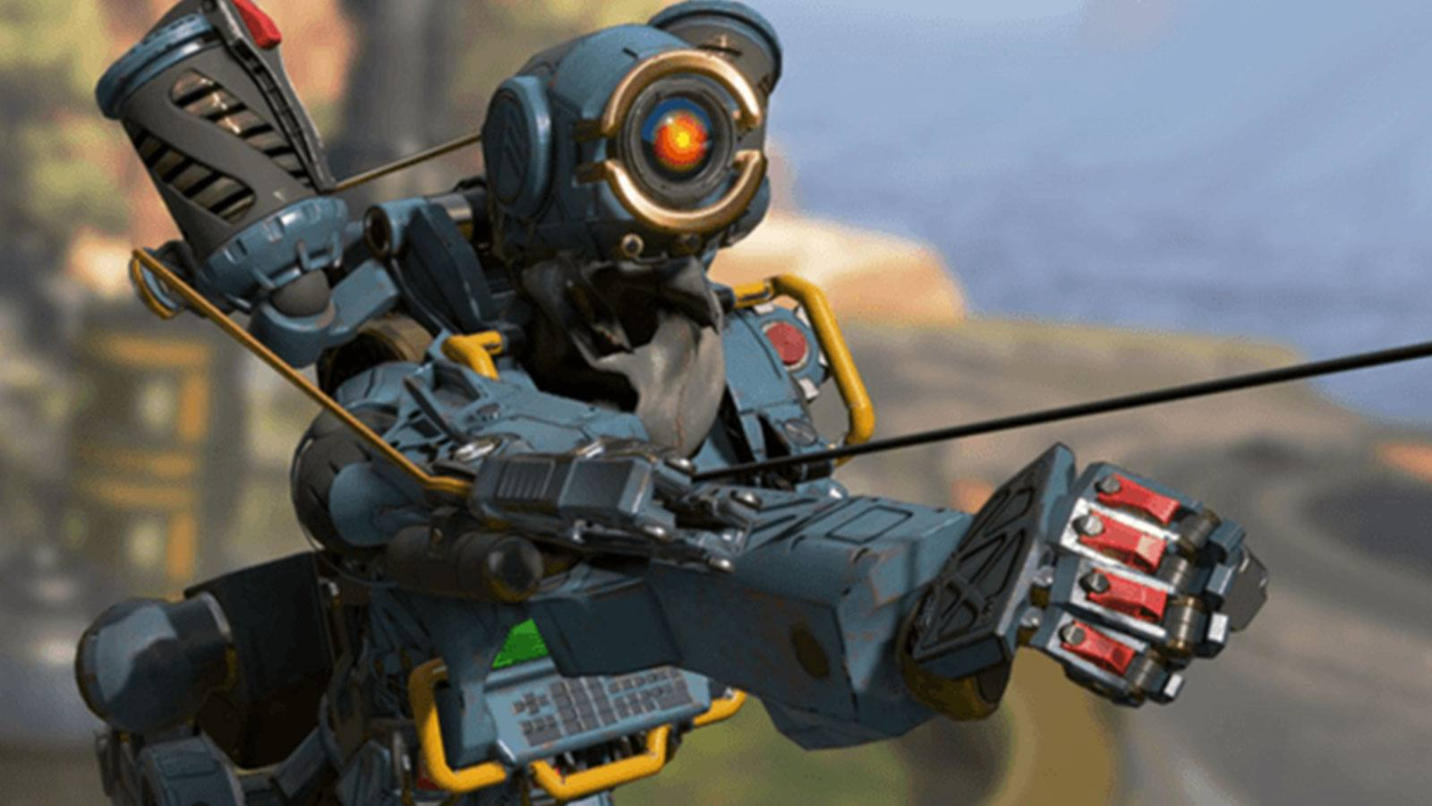 Pathfinder Apex Legends grappin Respawn Entertainment