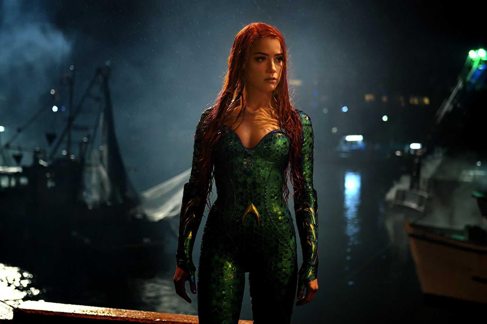 Les signatures s'envolent sur la péition demandant le retrait d'Amber Heard d'Aquaman 2