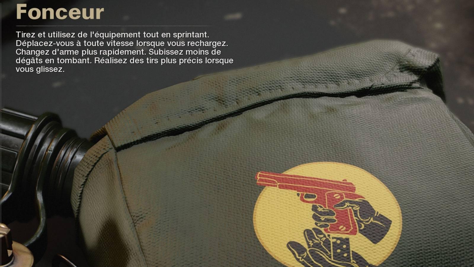 Atout Fonceur Black Ops Cold War Treyarch