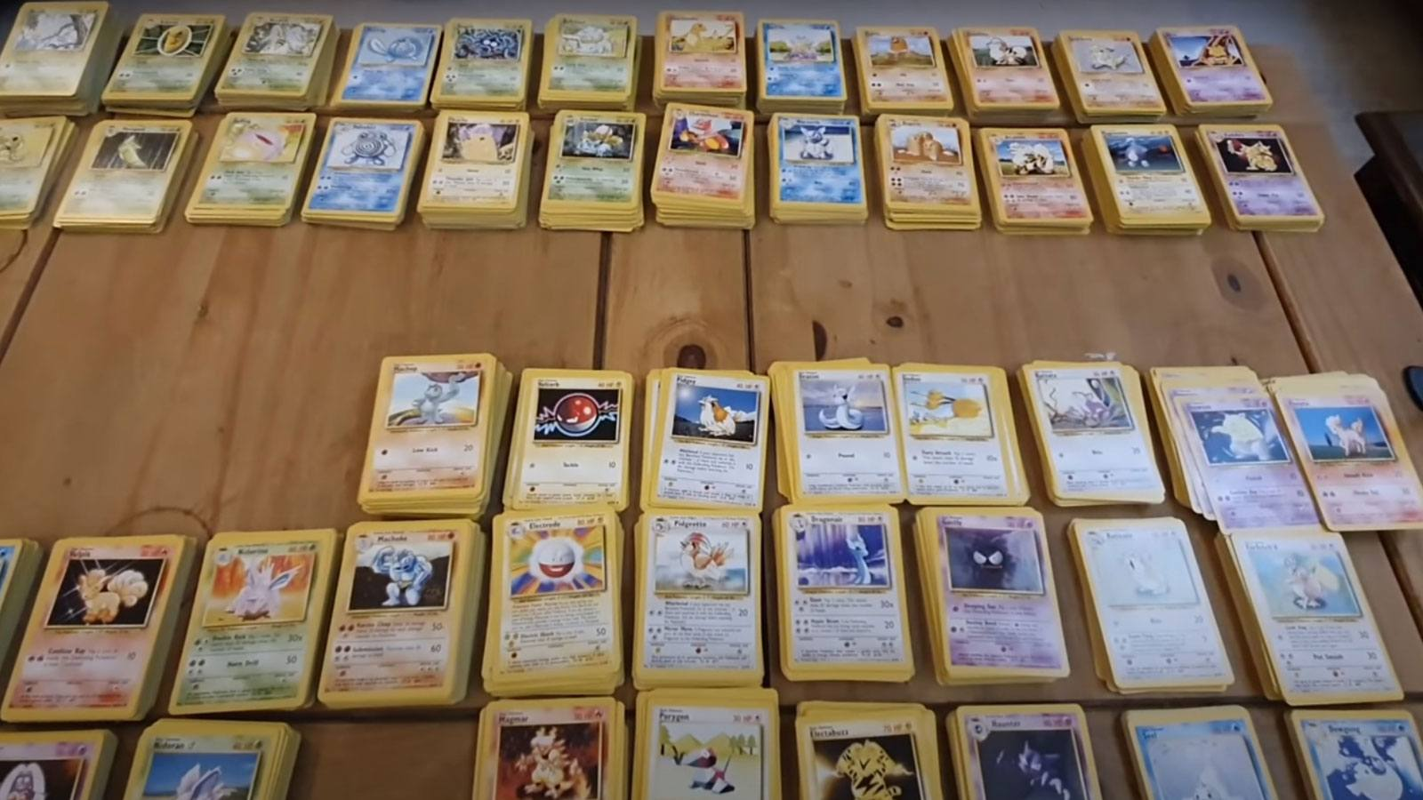 collection TCG Pokémon 1st édition PokeMans Alex