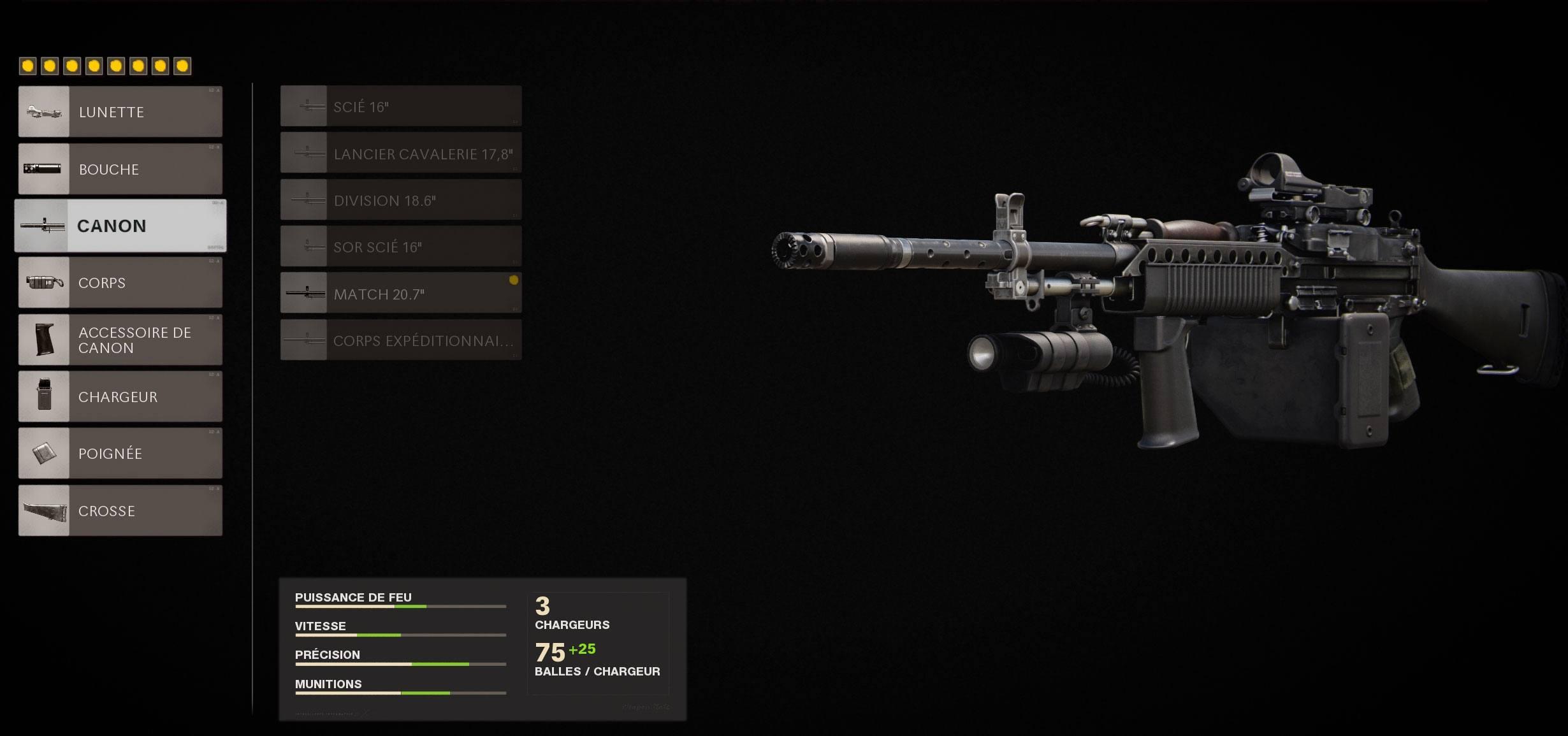 classe Stoner 63 Black Ops Cold War Treyarch