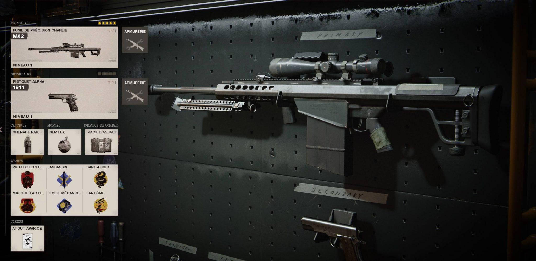 classe M82 Black Ops Cold War