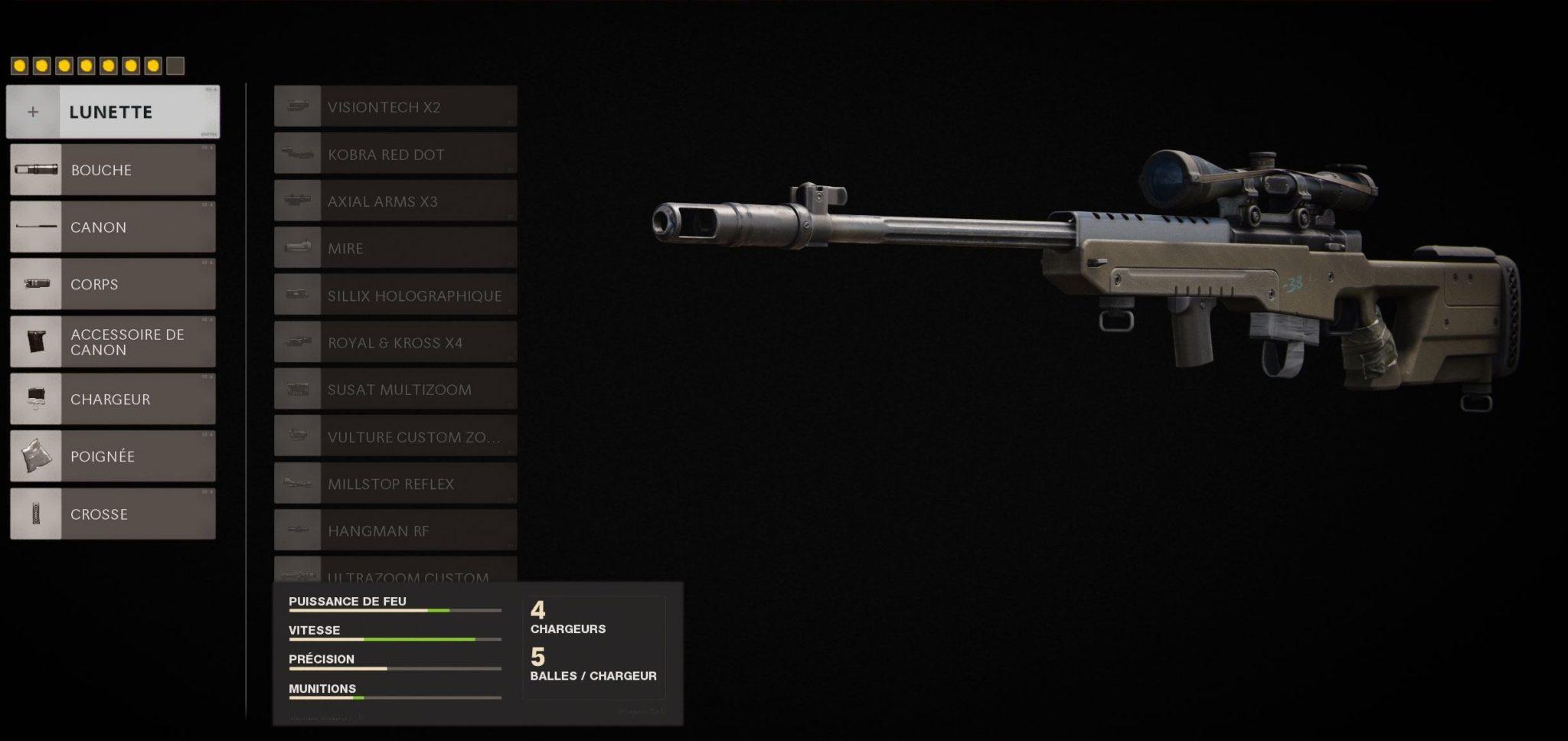 classe Black Ops Cold War LW3 Tundra Treyarch