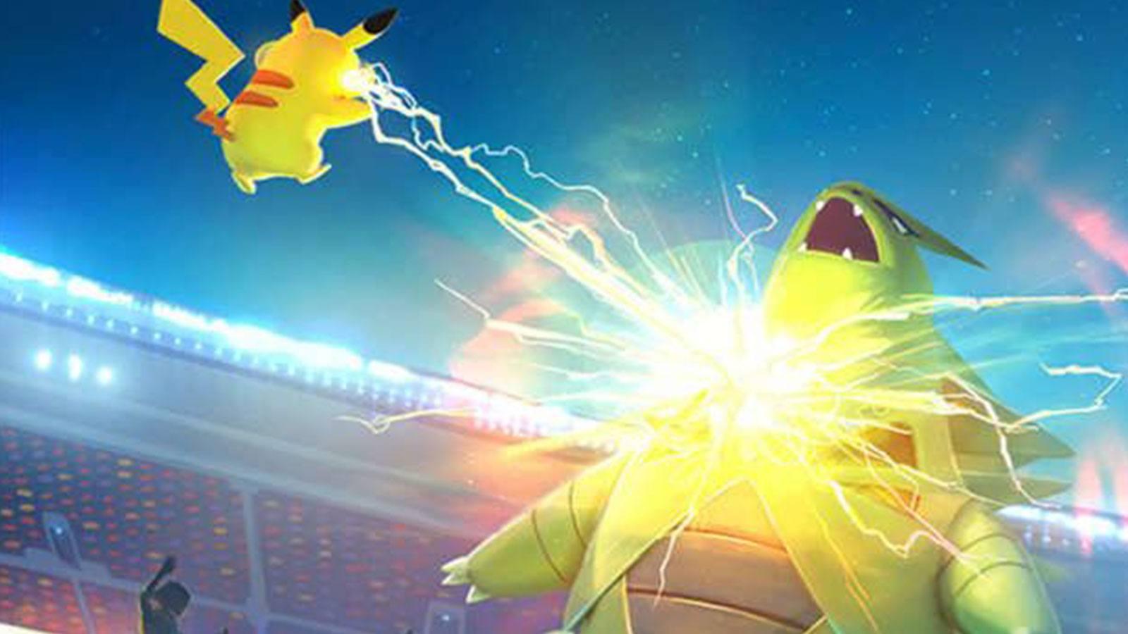 Pokémon Go Pikachu Tyranocif Niantic