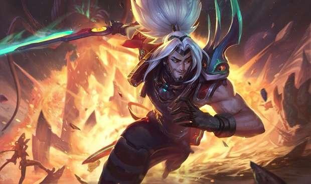Yasuo Riot Games League of Legends