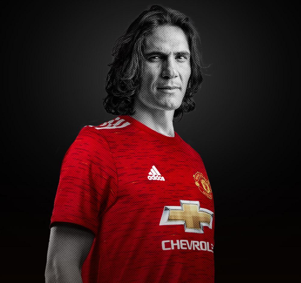 Edinson Cavani chez Manchester United