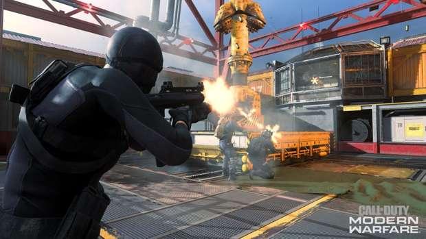 Barebones moshpit Modern Warfare Infinity Ward