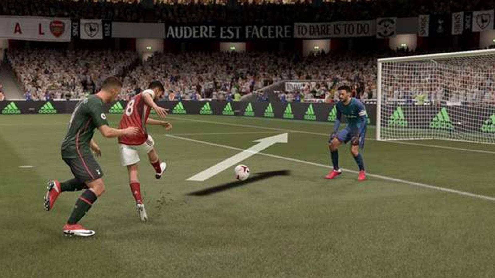 FIFA 21 tirs scripts EA SPORTS