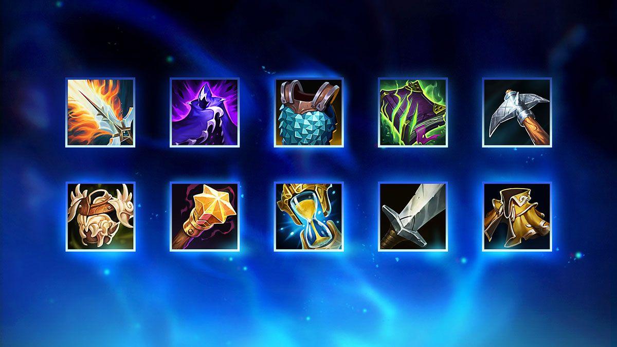 Nouveaux objets de League of Legends