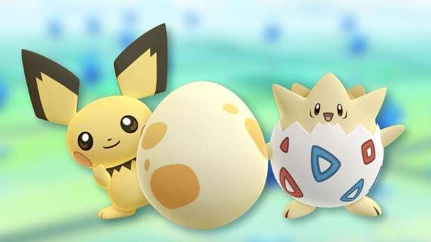 Pokémon Go Pichu œufs 5 km Togeki