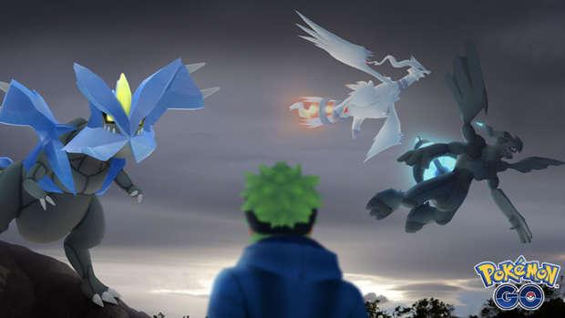 Pokémon Go Kyurem Reshiral Zekrom