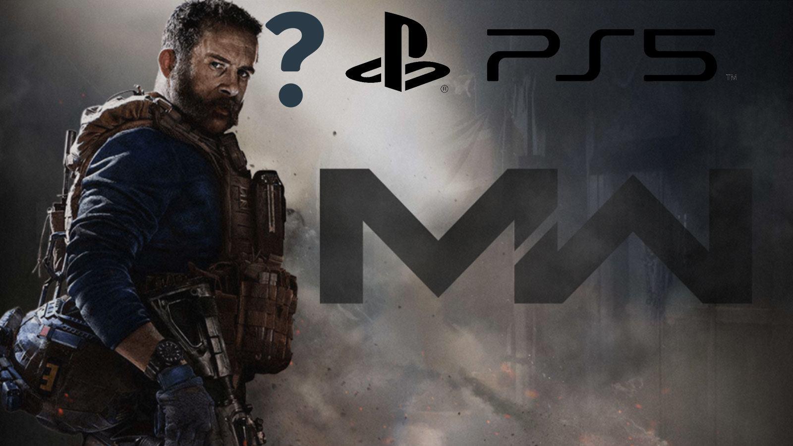 jaquette Modern Warfare Price Playstation 5 logo