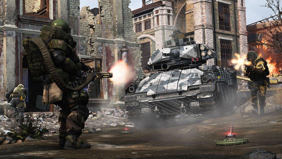 Juggernaut dans Modern Warfare: Warzone