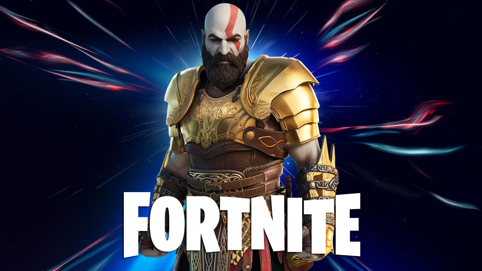 Kratos dans la boutique Fortnite
