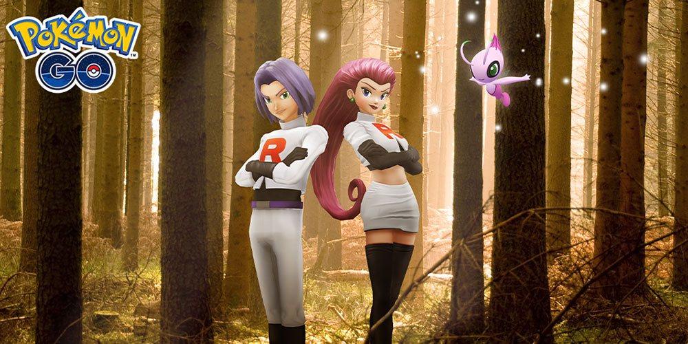 Jessie et James dans Pokémon GO
