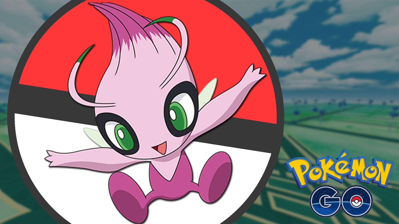 Celebi SHiny dans Pokémon GO