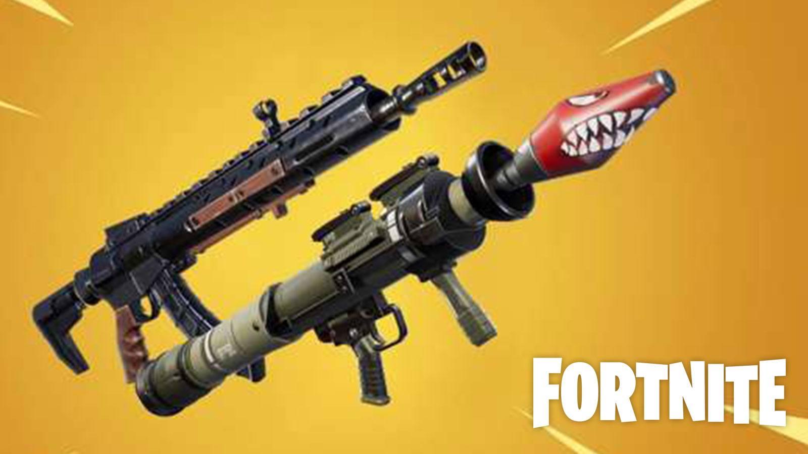 Fortnite lance-roquettes fusil d'assaut mythique Epic Games