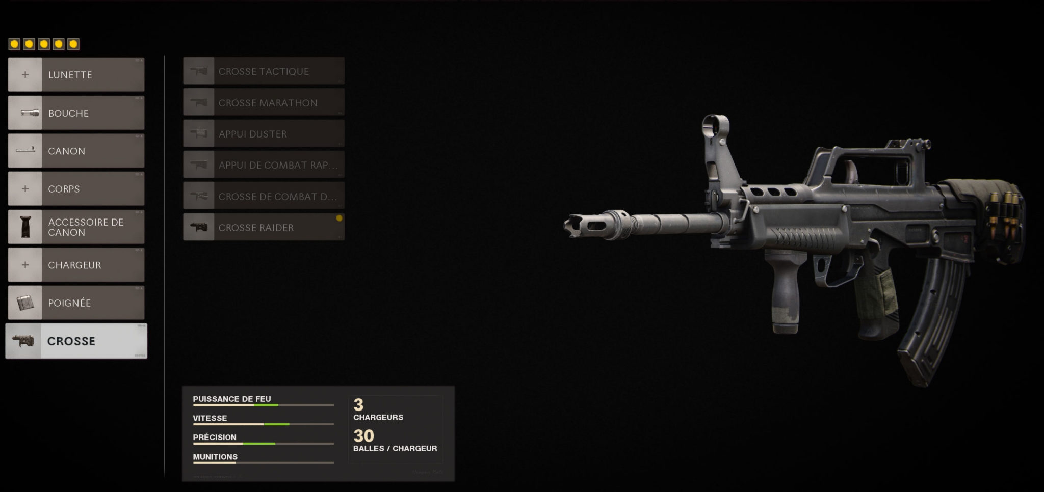 accessoires QBZ-83 Black Ops Cold War Treyarch