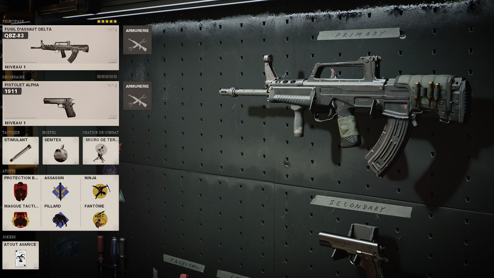 classe QBZ-83 Black Ops Cold War