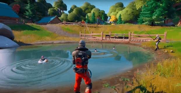 Fortnite canne à pêche Epic Games