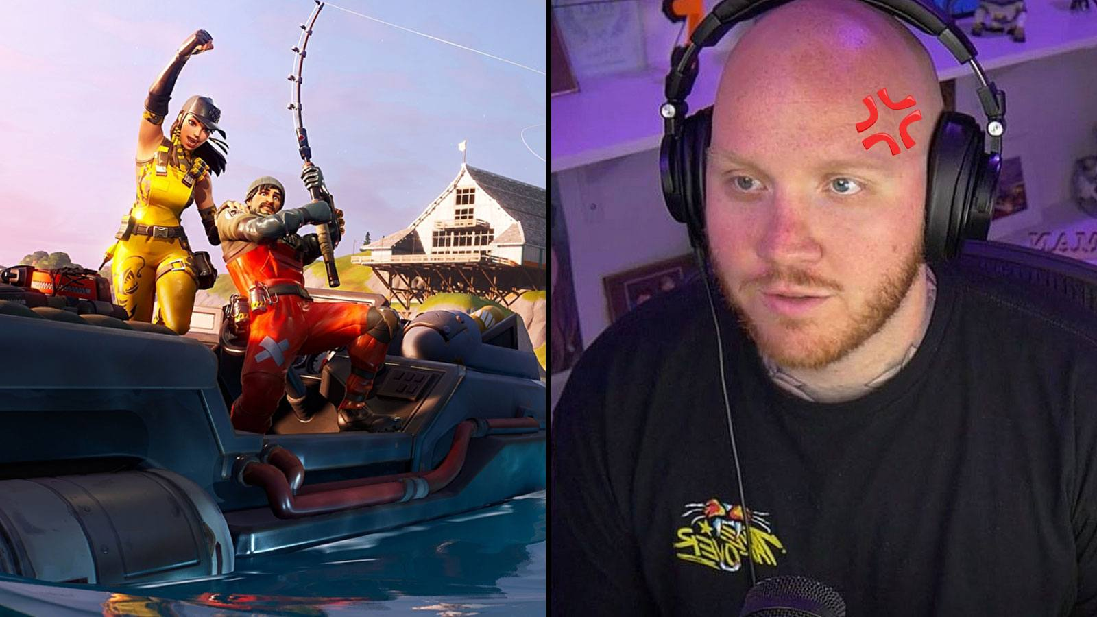 Fortnite canne à pêche | TimTheTatMan Twitch