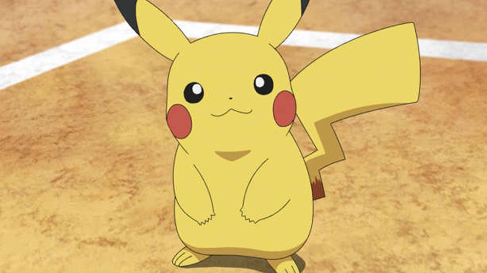 Pokémon dessin animé Pikachu