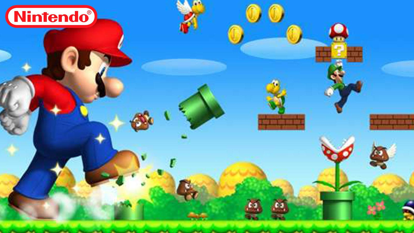 Mario géant Nintendo