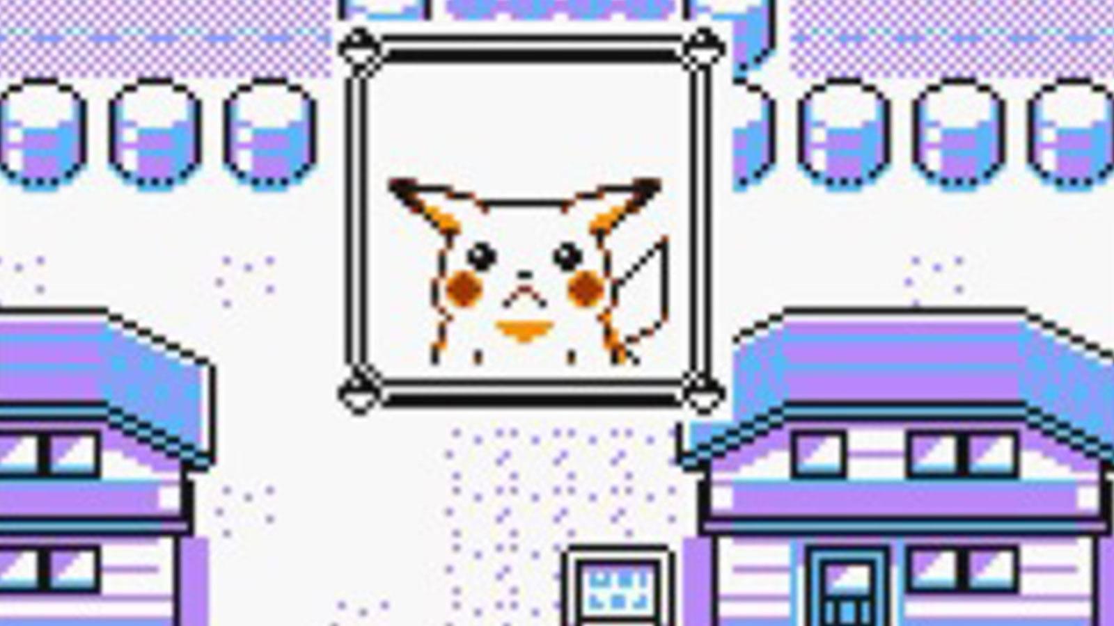Pokémon Pikachu version Jaune Game Freak