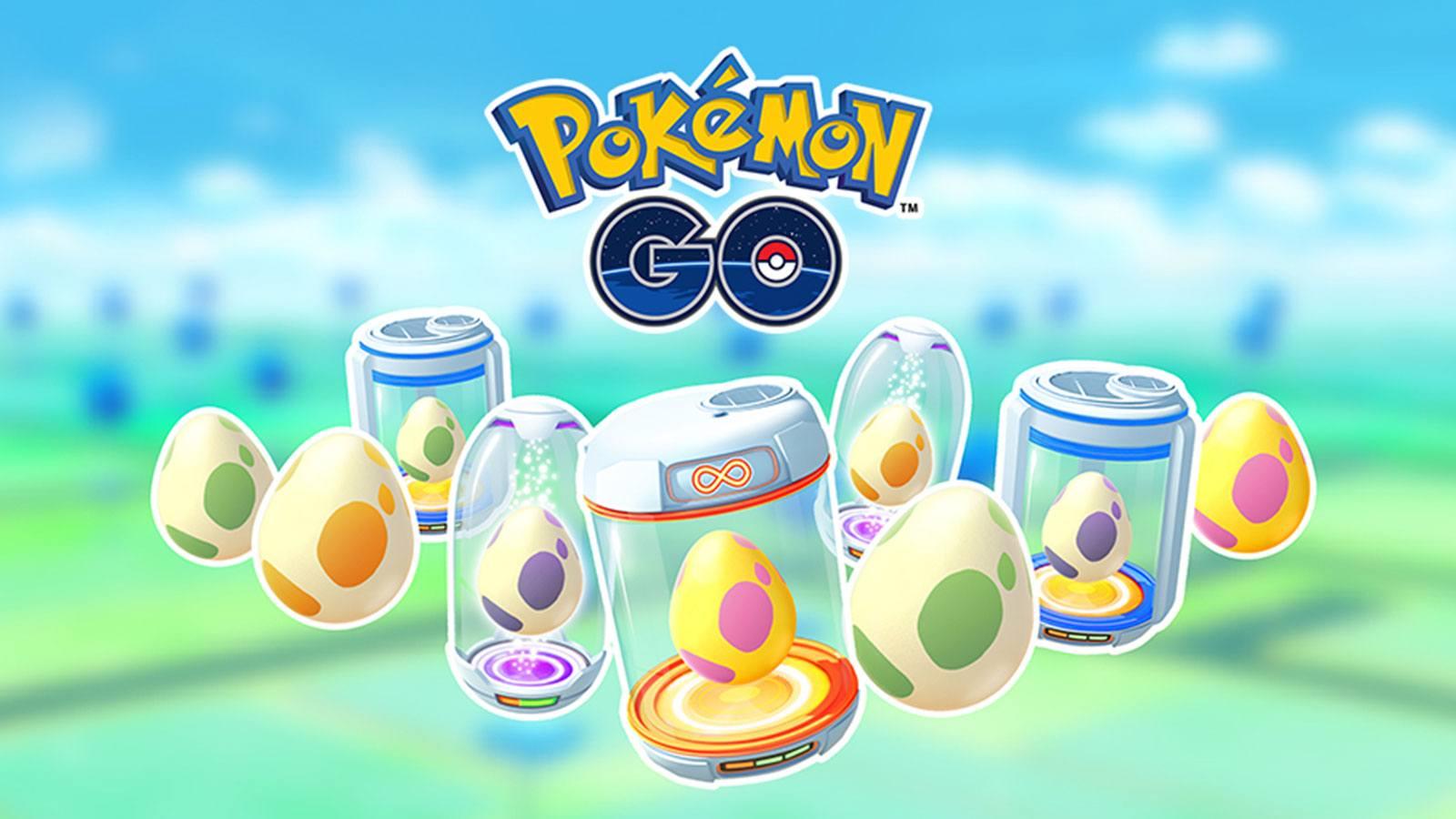 Œufs dans Pokémon GO