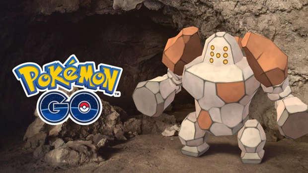 Regirock Pokémon Go