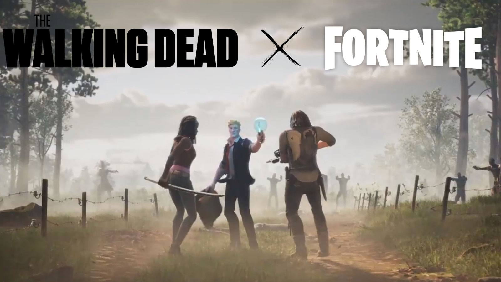 skins Daryl Michonne Walking Dead Fortnite