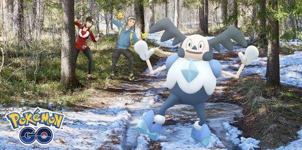 événement Pokémon Go Mr Mime Galar