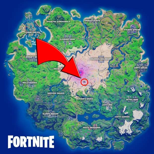 Carte Fortnite Aigle Nocturne Epic Games