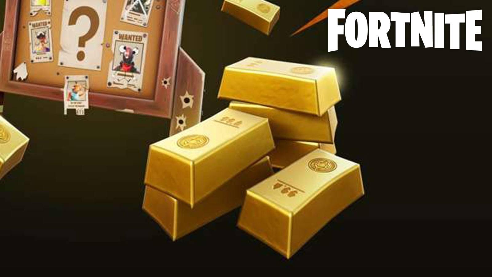 lingots d'or Fortnite
