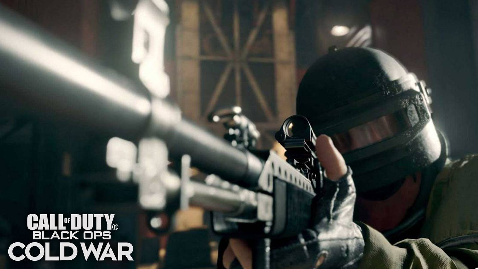 Black Ops Cold War sniper Treyarch