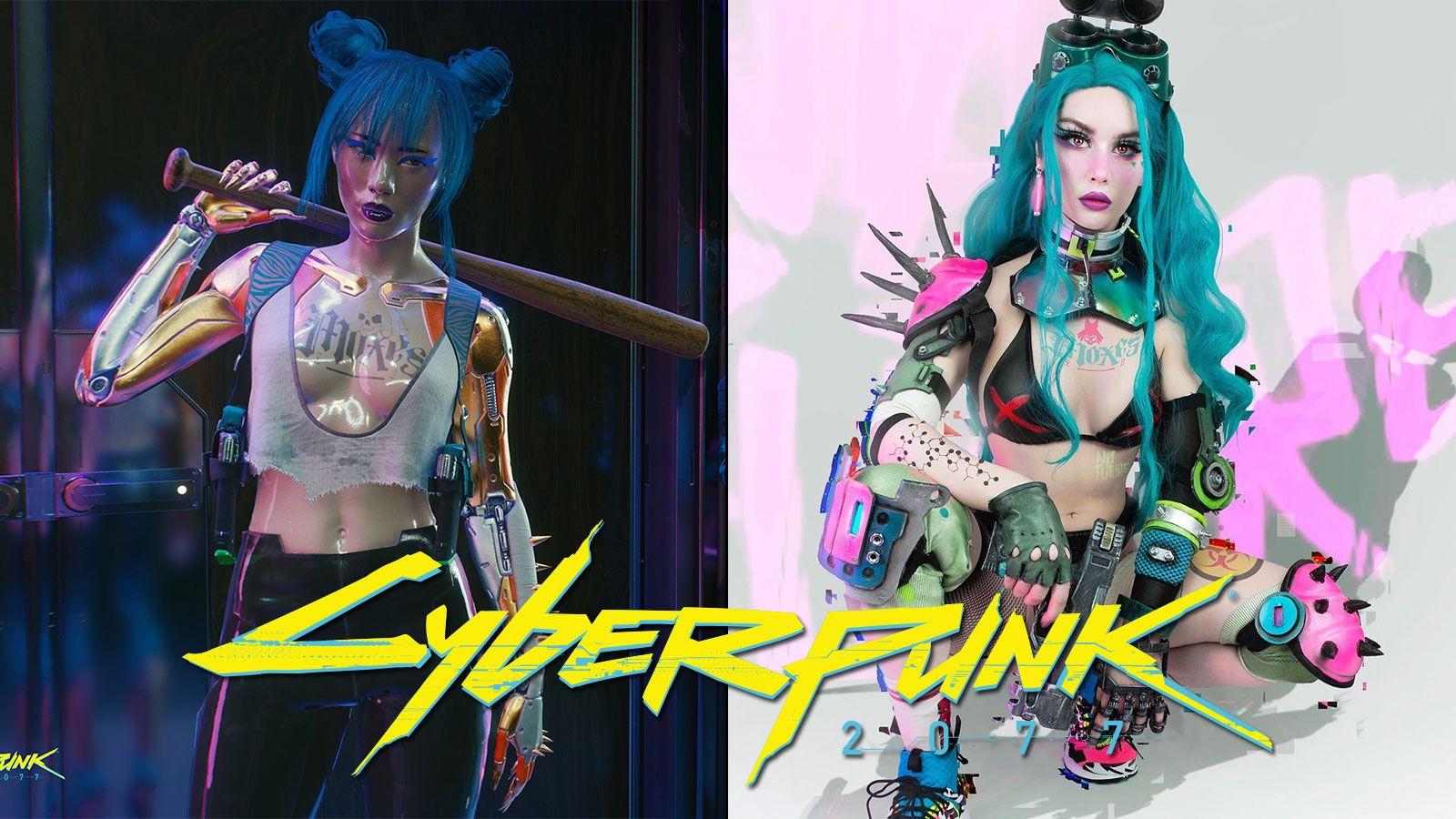 Cosplay de Mox dans Cyberpunk 2077