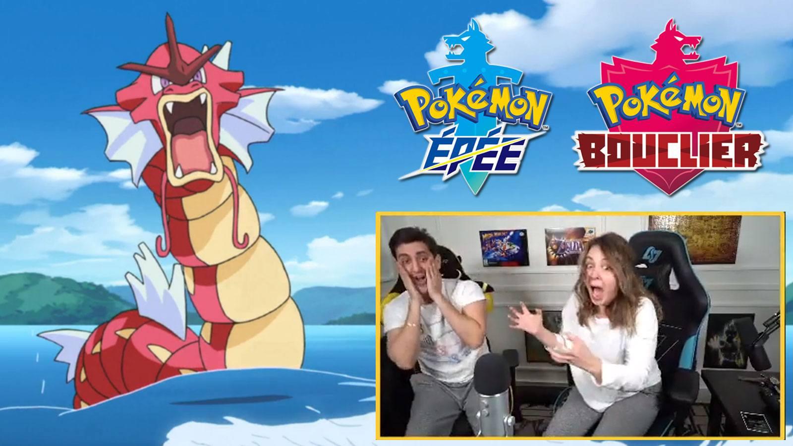 Des streamers attrapent un Pokémon shiny